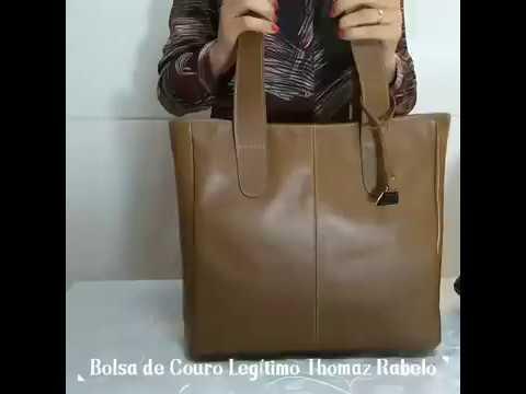 bcf917c2c Bolsa Couro Legítimo Sacola Thomaz Rabelo Talina Grande A - R$ 299,00 em  Mercado Livre