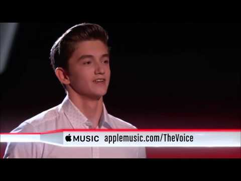 The Voice 2015 Blind Audition  Chance Peña I See Fire