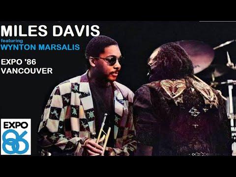Miles Davis- June 27, 1986 Expo '86, Vancouver [with Wynton Marsalis]