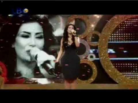Rouwaida Attieh / رويدا عطية  in  ,,the perfect bride,, 1. song  ,,shosahl l haky,,