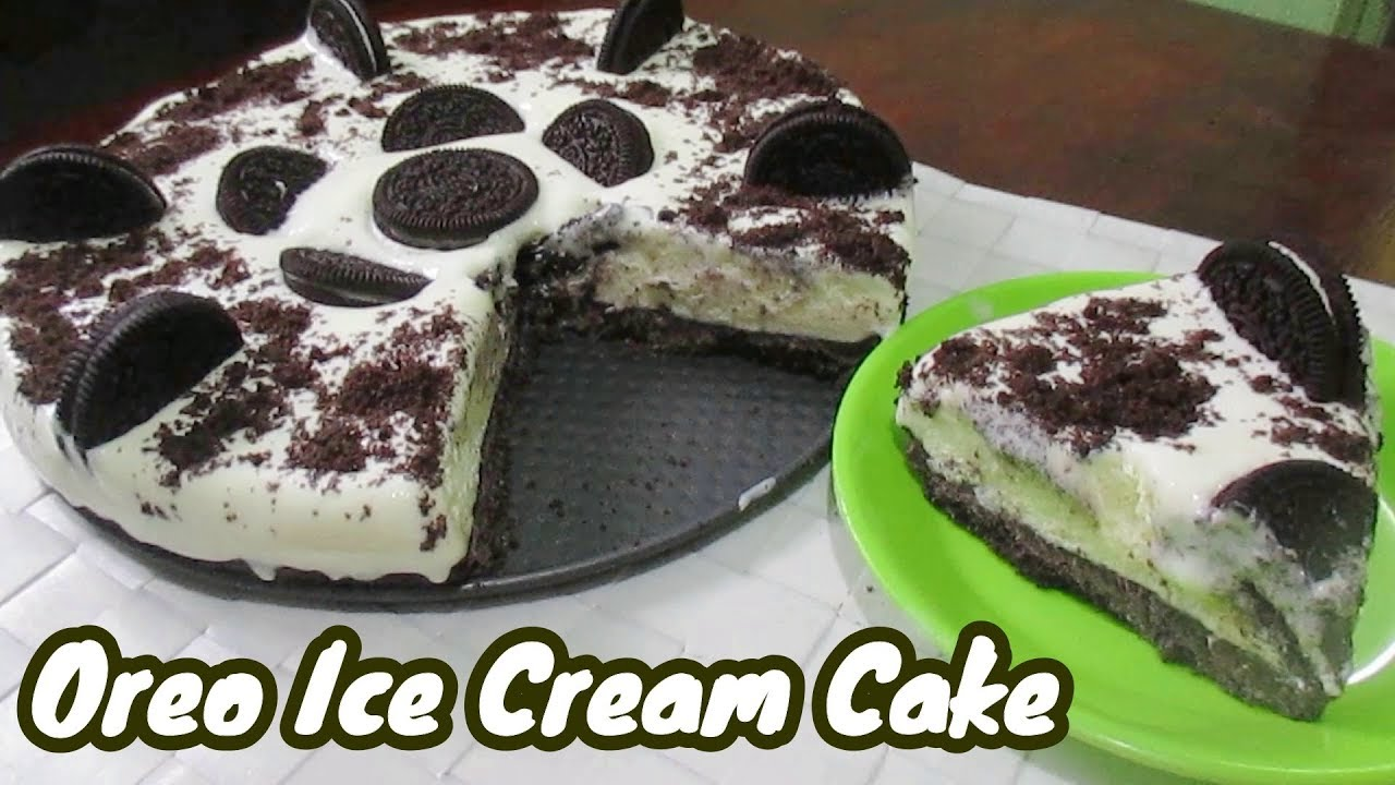 No Bake Oreo Kuchen No Bake Oreo Ice Cream Cake