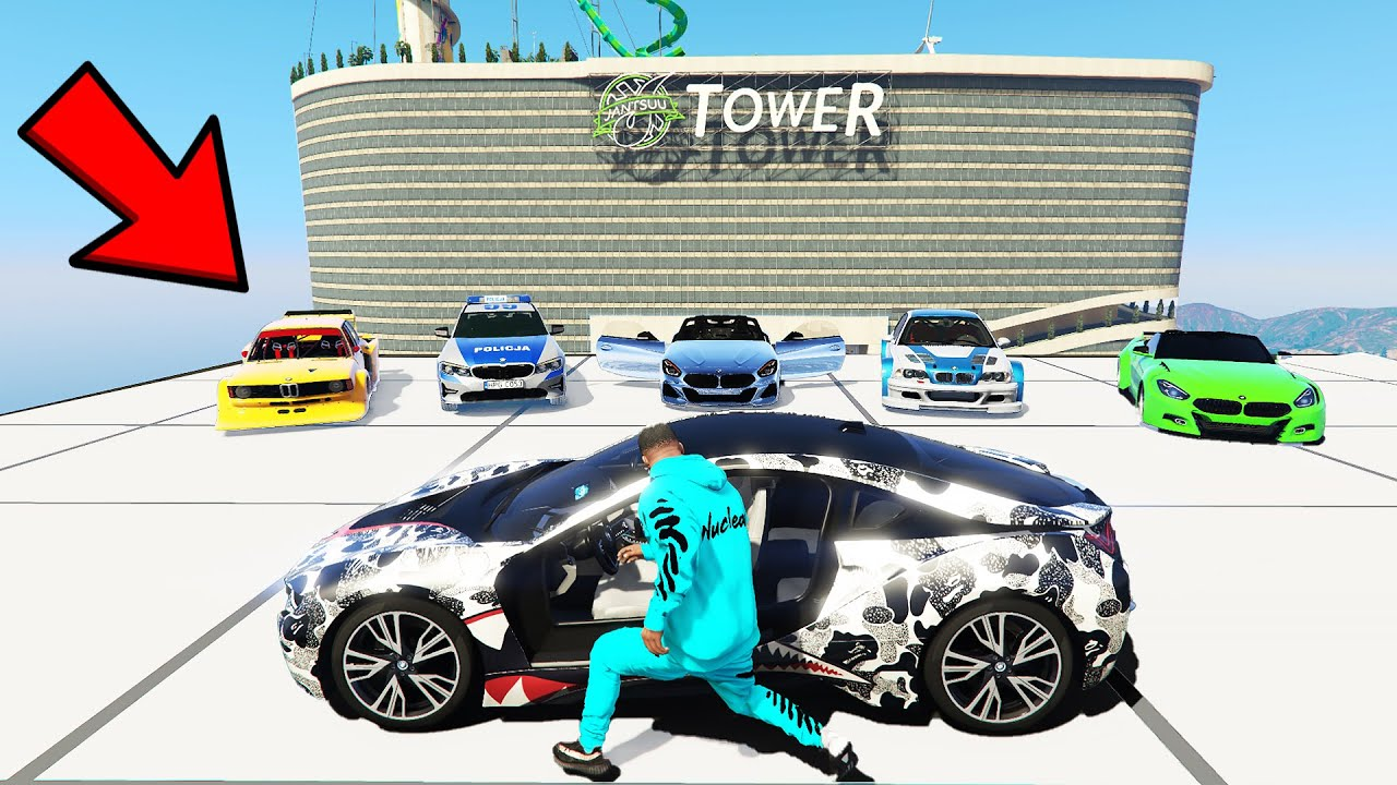 GTA 5: FRANKLIN Steals Rare Billionaire's BMW SUPERCARS in GTA V!