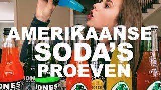 GEKKE AMERIKAANSE SODA'S PROEVEN