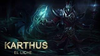Expositor de Campeones: Karthus, la Voz de la Muerte