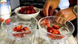 Клубника со сливками / Fresas con Nata
