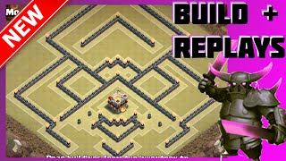 BEST Th11 War Base! The Wonder Wall | Dead Zone Base [Build+Replays] | Clash Of Clans (CoC)