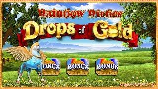 £30 Mega Spins  Rainbow Riches Drops of Gold 🍀 + Pegasus Rising