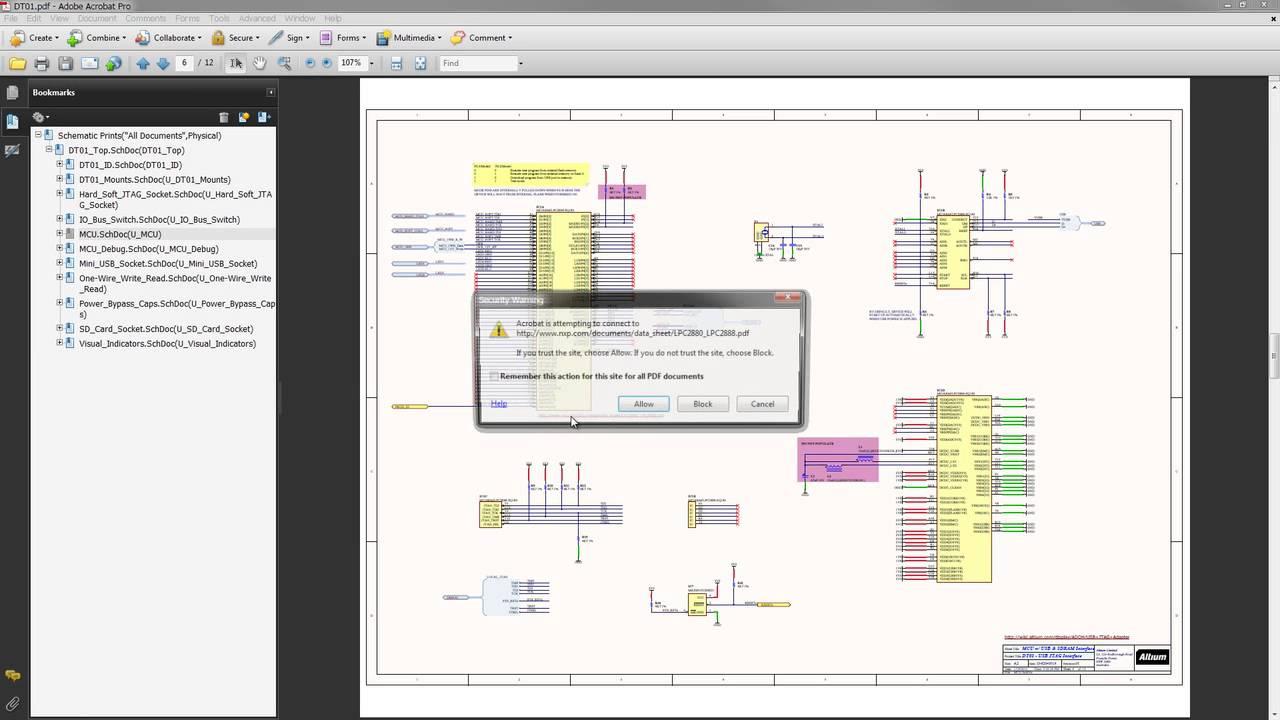 Altium Designer - Hyperlink Text Support in Schematic Documents