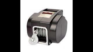 Обзор переносной электрической лебедки Dragon Winch 5000 DWP