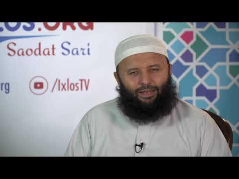 Savol-javoblar | 07 11 2018 | Shayx Sodiq Samarqandiy |1080P HD
