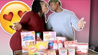 ONLY EAT PINK FOODS FOR 24 HOURS CHALLENGE