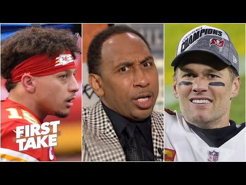 Download Stephen A.: Mahomes will never be the GOAT if he loses to Brady in Super Bowl LV | First Take