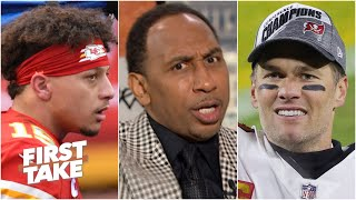 Stephen A.: Mahomes will never be the GOAT if he loses to Brady in Super Bowl LV | First Take