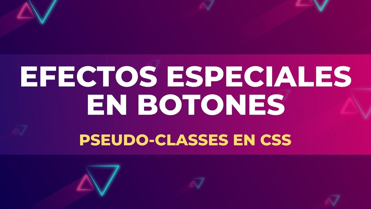 Pseudo-classes en CSS