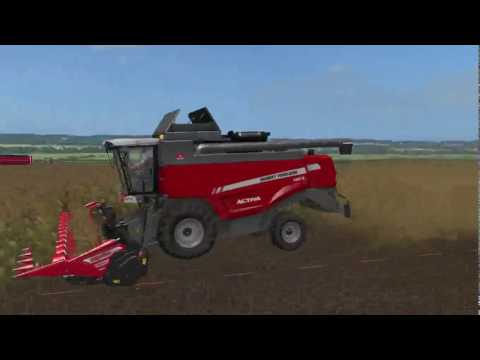 Harvest and Spraying on TJ Farms