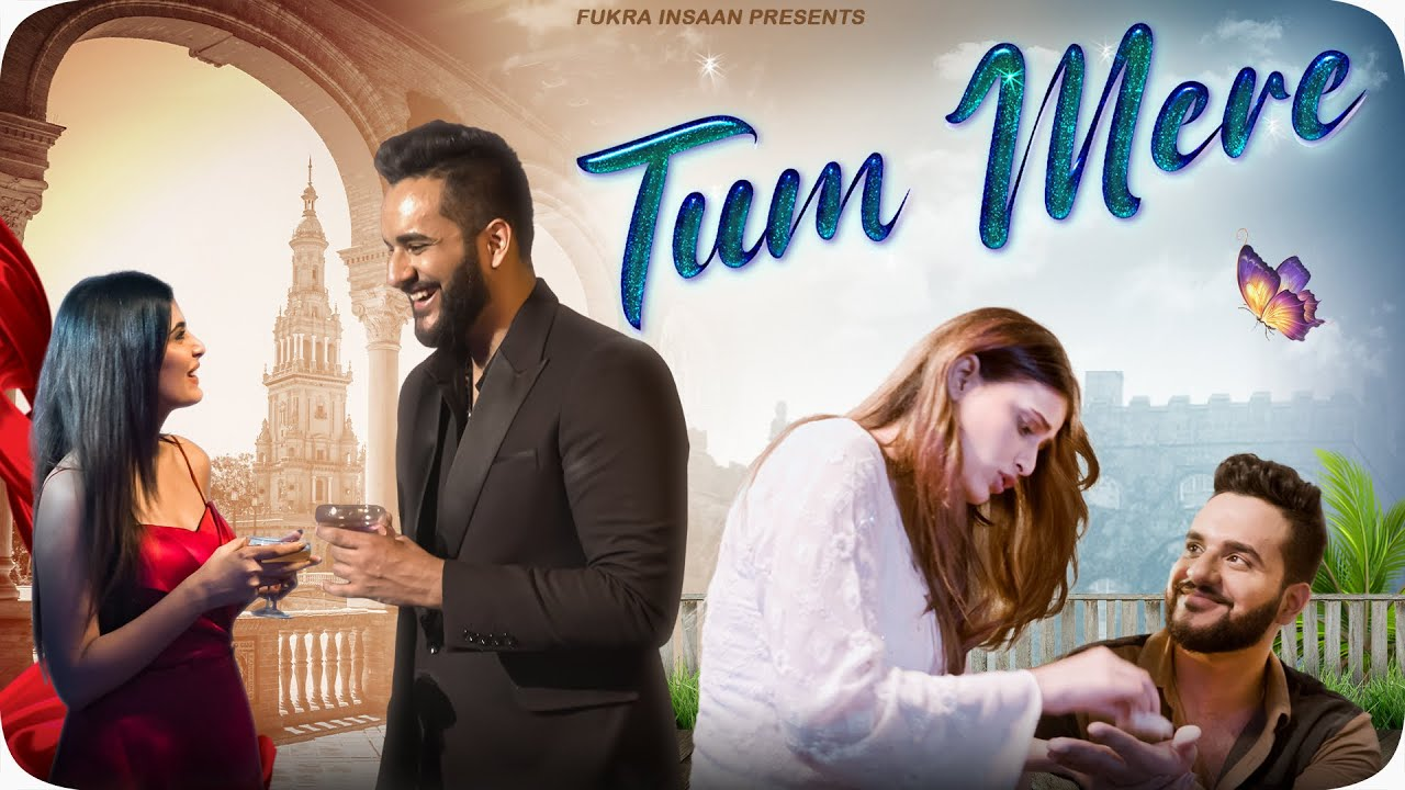 TUM MERE - FUKRA INSAAN Ft.Crazydeep (OFFICIAL MUSIC VIDEO ) !! My FIRST LOVE SONG