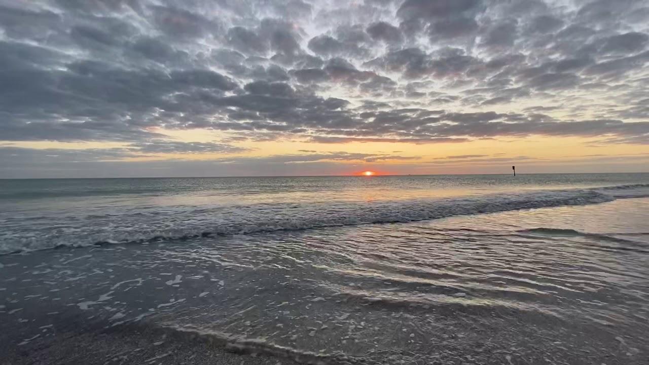 Englewood Beach sunset - YouTube