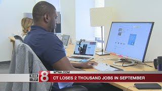 CT loses 2,000 jobs in September