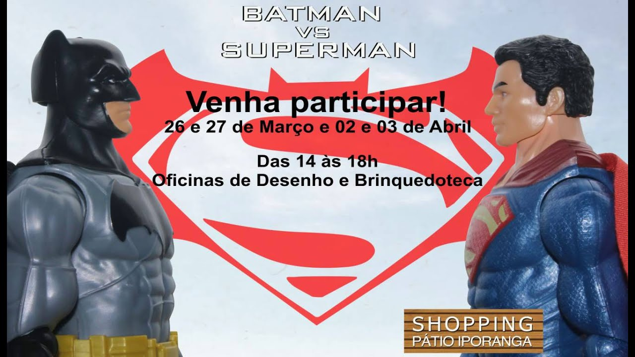 Exposição Batman vs Superman - YouTube