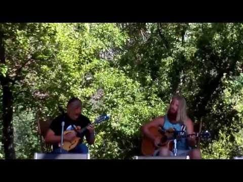 Tyler Rennix backed by Jared Janzen Rockygrass Mandolin Championships (for the win!) 2015.07.25