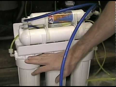 How To Change Filters In A Reverse Osmosis Water Filtration