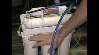 How To Change Filters In A Reverse Osmosis Water Filtration System (RO)