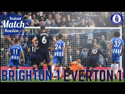 Rooney Papers Over The Cracks | Brighton 1-1 Everton
