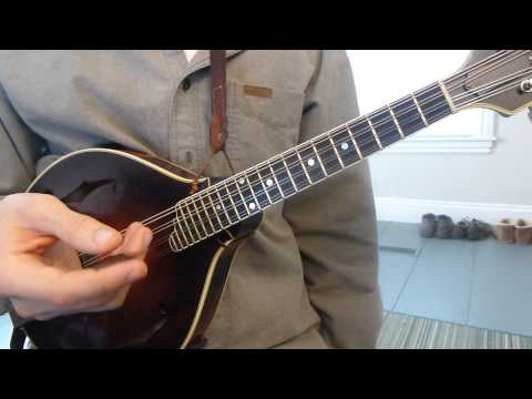 I, IV, and V (One, Four, and Five) Chords - Mandolin Lesson
