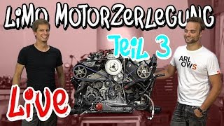 Riss im Block! Der RS4 Limo Motor wird zerlegt, Teil 3 | Philipp Kaess |