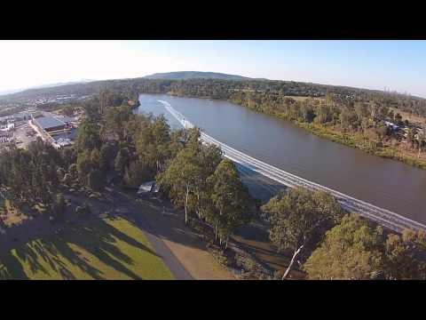 Seventeen Mile Rocks flyover DJI Phantom 2 Vision+ (incl. Dronie)