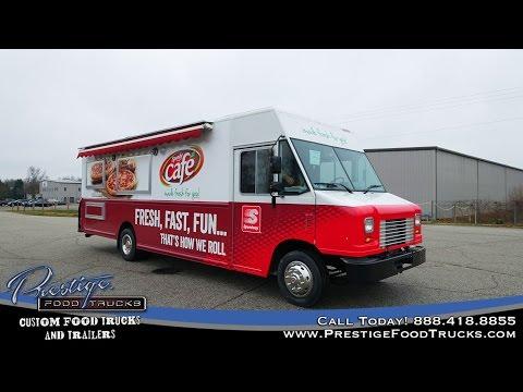 Speedway Food Truck Built By Prestige Food Trucks