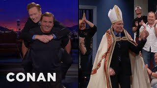Conan Is Still Workshopping New Set Entrances  - CONAN on TBS