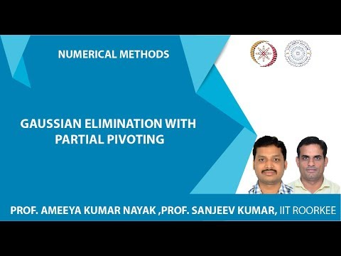 Lecture 02(Gaussian elimination with partial pivoting)