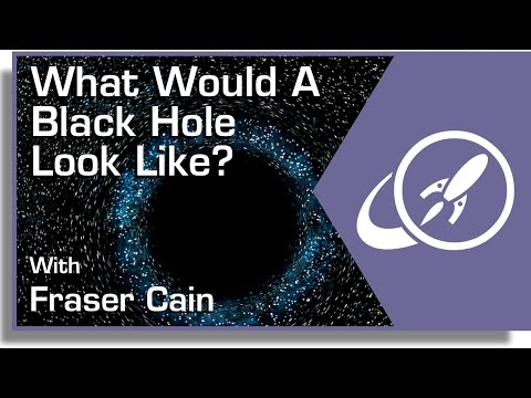 What Would A Black Hole Look Like?