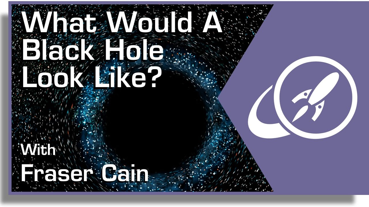 what would a black hole look like youtube
