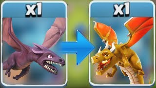 """The LAST dragon FIGHT!! """"clash of clans"""" Lore behind BOSS dragon!"""
