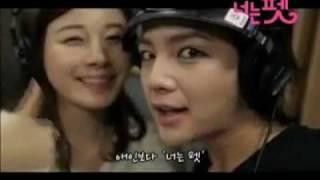 You're My Pet OST - Jang Keun Suk & Kim Ha Neul cr: sukbar.