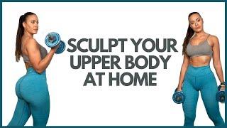 Sculpt Your Upper Body at Home