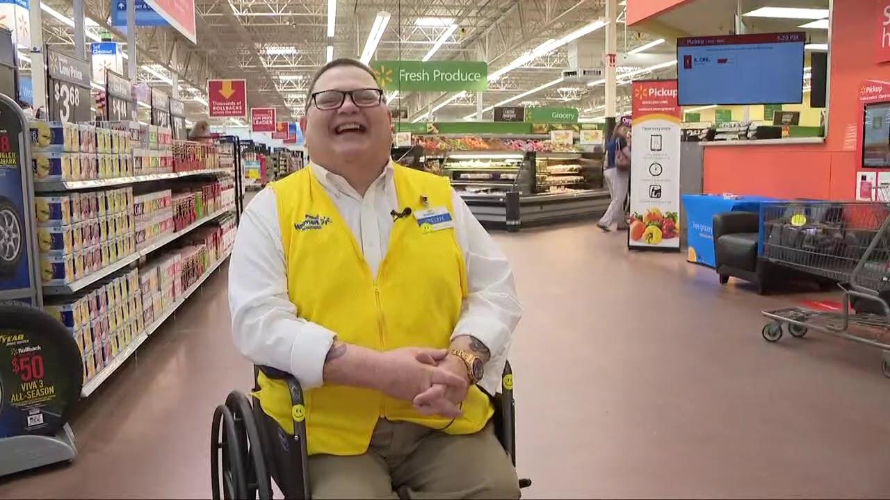 Singing Walmart Greeter Brings Tears To Shoppers In Chardon
