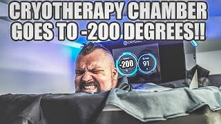 Legs & Abs | -200 Degrees cryotherapy!!
