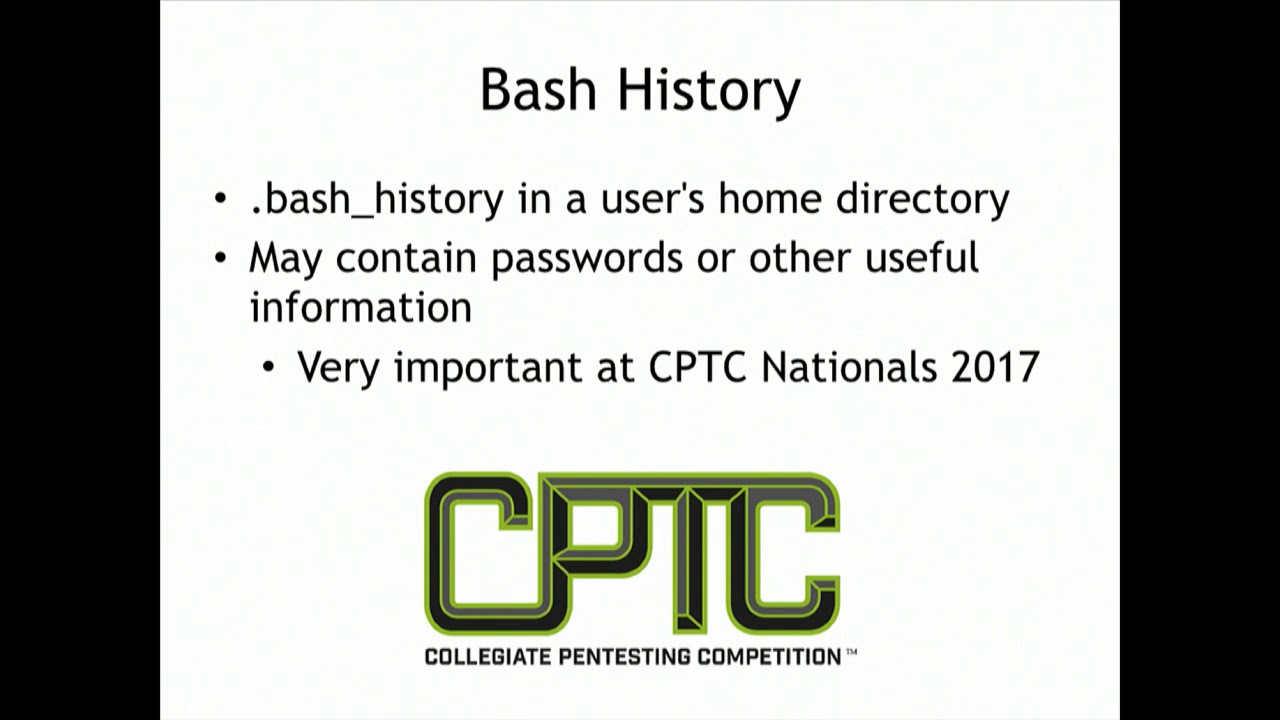 CNIT 124: Advanced Ethical Hacking -- Sam Bowne