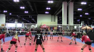 ARVC Shock 16 vs Vision Volleyball 16 Gold - Game 1