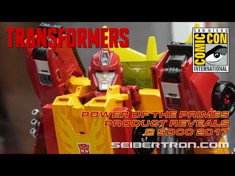 Transformers Power of the Primes product reveals at SDCC 2017