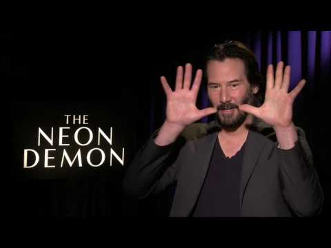 "The Neon Demon: Keanu Reeves ""Hank"" Official Movie Interview"