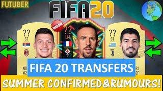 FIFA 20   SUMMER CONFIRMED TRANSFERS & RUMOURS!! FT. RIBERY, SUAREZ, JOVIC ETC... (TRANSFER RUMOURS)
