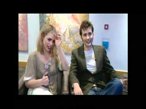 David Tennant and Billie Piper Interview 2006.
