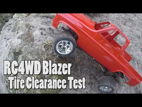 High Volts RC - RC4WD Blazer Hard Body Build - Scale Garage Plus Flex Test