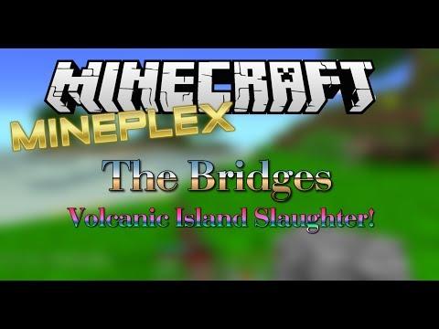 Minecraft: Mineplex-The Bridges Volcanic Islands