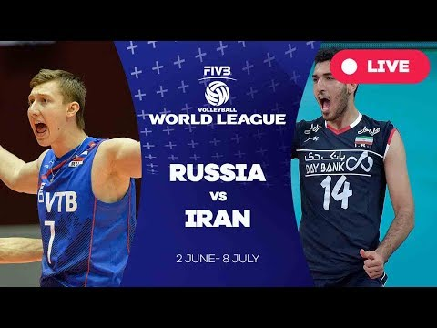 Russia v Iran - Group 1: 2017 FIVB Volleyball World League