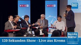 Die 120 Sekunden LiveShow aus dem ICM Krems